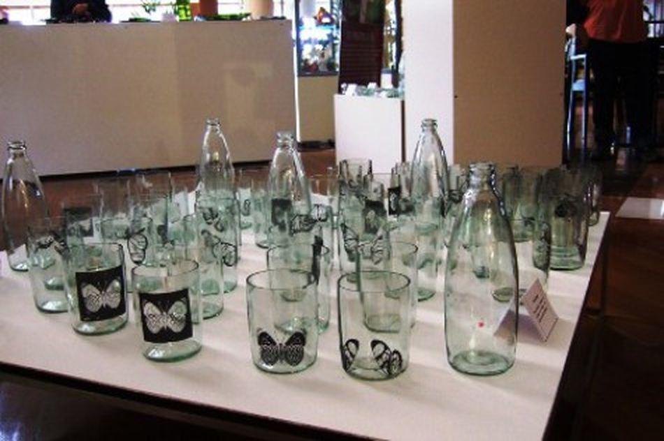 El hotel Amerian realiza productos de vitrofusión con vidrios ...